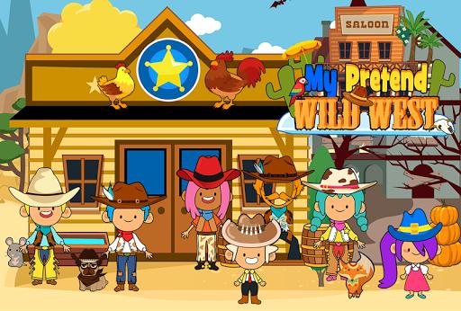 My Pretend Wild West - Cowboy & Cowgirl Kids Games ss1