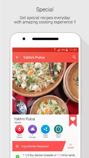 Indian Recipes for Android apk 2