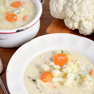 Chunky Cauliflower Soup.