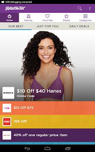 RetailMeNot Coupons, Discounts- screenshot thumbnail