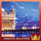 GoldenTemple Live Wallpaper