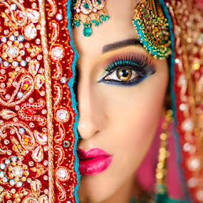 The Bride by Muzna Butt - People Portraits of Women (  )