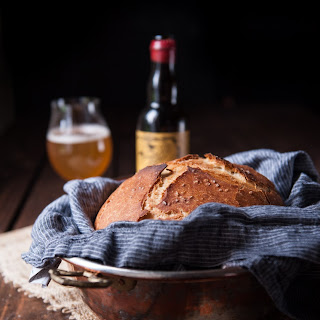 Sour Ale Sourdough Bread