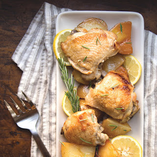 Slow Cooker Honey-Rosemary Chicken