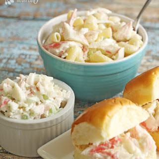 Easiest Crab Salad Recipe (and 3 ways to enjoy it).