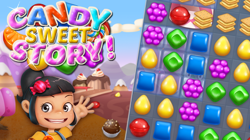 Candy Sweet Story: Candy Match 3 Puzzle 72 screenshots 6