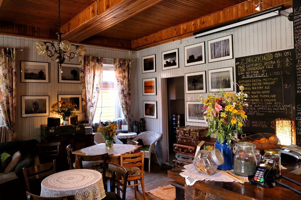 Białowieża, Cafe Walizka