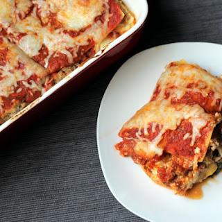 Cheesy Weekday Kale Lasagna