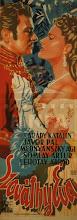 Photo: 1943 Affiche du film Szováthy Éva, sorti en 1944 (Signée Dallos, mais d'une écriture différente de la signature habituelle. Est-ce bien Hanna Dallos ?)