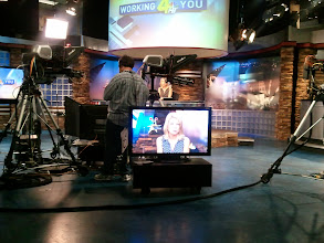Photo: See Jennifer in the anchor seat, see Jennifer on the air.