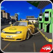 Electric Car Taxi Driver: NY City Cab Taxi Games