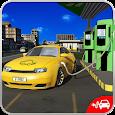 Electric Car Taxi Driver 3D
