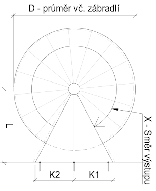 """(příklad: """"1,8 m"""" nebo """"schodiště bude sloužit jako vedlejší vchod u rodinného domu"""")"""