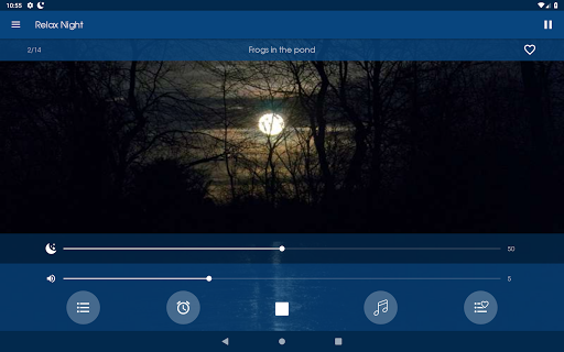 Relax Night ~ Nature sounds: sleep & meditation - Apps on