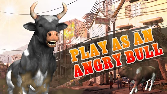Angry Bull Attack Shooting - náhled