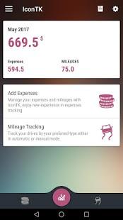 IconTK Expense & Mileage - náhled