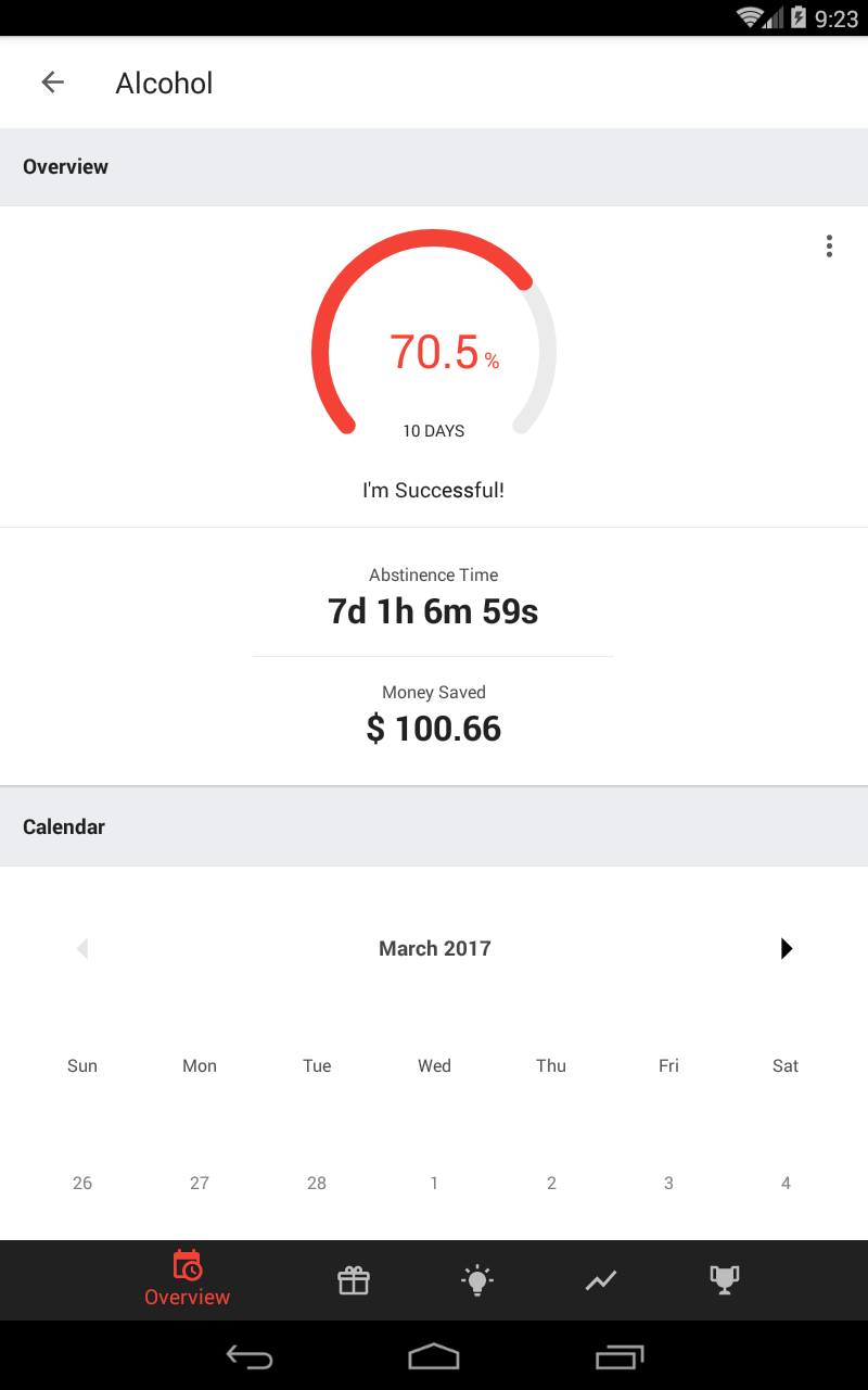 Sobriety Counter – Bad Habits Screenshot 9