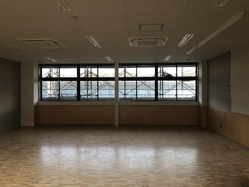 <1階教室内>