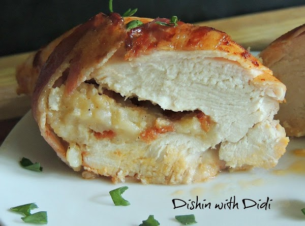 Smokey Bacon, Cheese & Potato Chicken Breasts Recipe