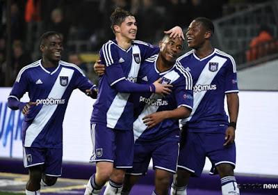 Les espoirs anderlechtois se sont imposés 5-0 face au SK Brann