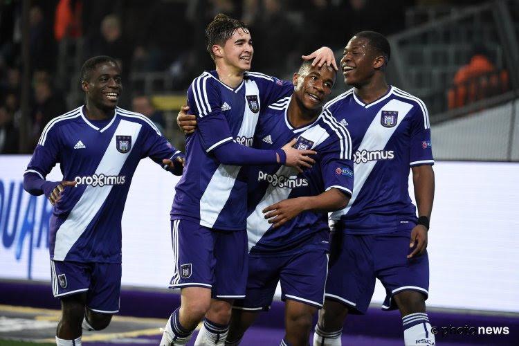 Youth League: Anderlecht ne fait qu'une bouchée de Brann