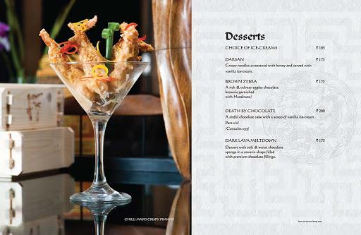 Berco's menu 1