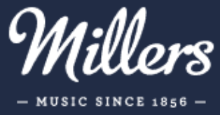 Millers Music Cambridge UK