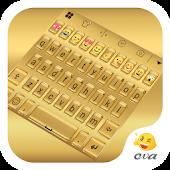 Gold Shine Keyboard