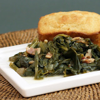 Turnip Greens With Bacon.