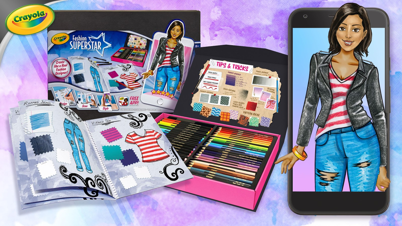 Crayola Fashion Superstar Android Apps On Google Play