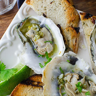 Citrusy Grilled Oysters