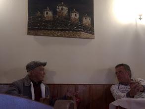Photo: locals in emblematic Vikos taverna
