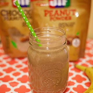 PB & Chocolate Power Smoothie Recipe