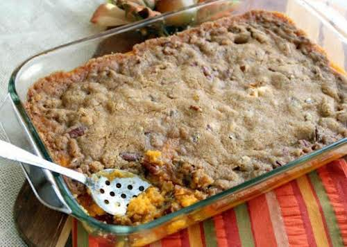 Sweet Potato Casserole Delight If you can make mashed potatoes, then this...