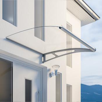 Pultbogenvordach XL Erweiterungsmodul, Edelstahl