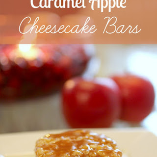 Caramel Apple Cheesecake Bars Recipes
