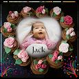 Name and Photo On Birthday Cake icon