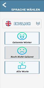 Download Englisch lernen Vokabeln - Kostenlose App For PC Windows and Mac apk screenshot 5
