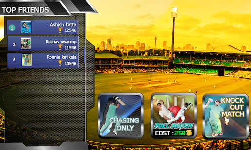 Top Cricket MultiPlayer- screenshot thumbnail