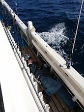 Photo: ・・・船酔いダウン。