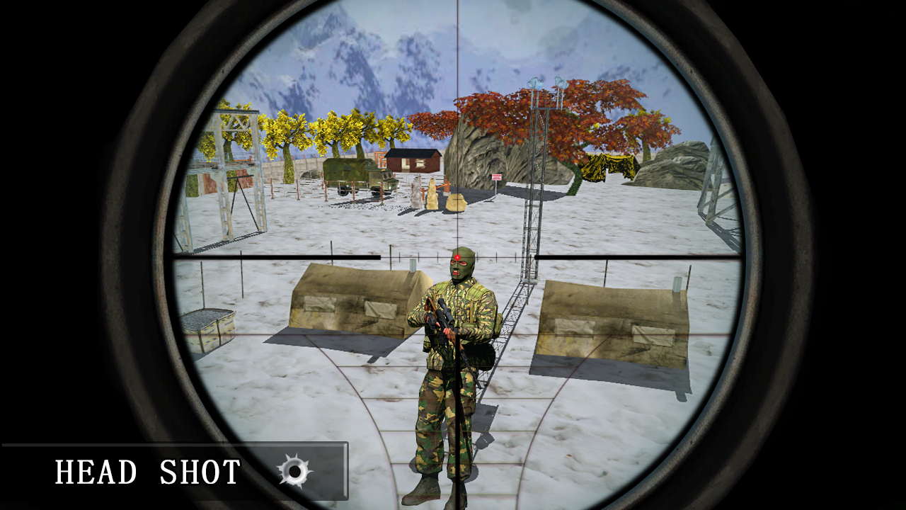 Army Sniper Desert 3D Shooter- screenshot
