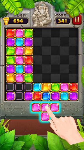Block Puzzle u2013 Jewel Games in Temple 1.2.0 screenshots 4