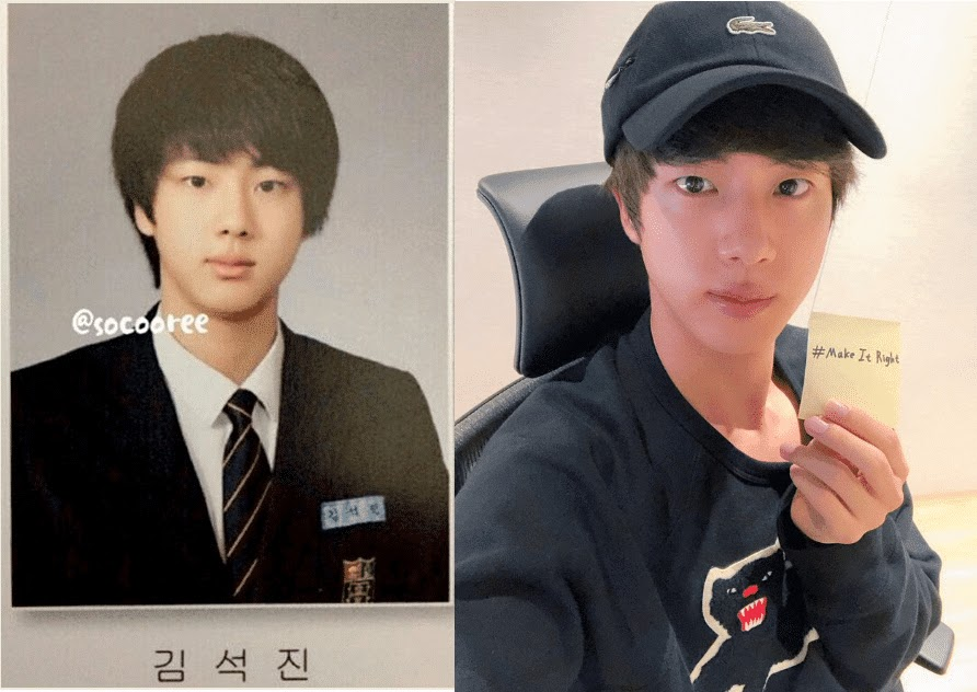 before after jin