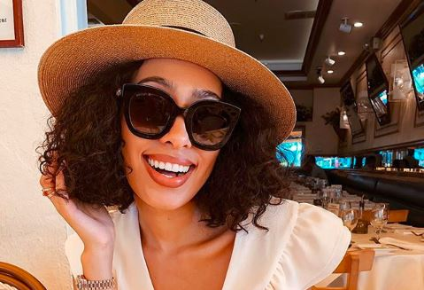 Influencer and blogger Sarah Langa Mackay spoke about how she met her hubby.