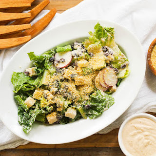 Vegan Southwest Caesar Salad