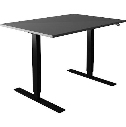 Skrivbord el grå 2000x800