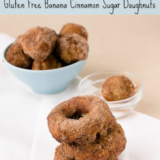 Gluten-Free Baked Banana Cinnamon Sugar Doughnuts (A Guest Post from Sweet Twist of Blogging)