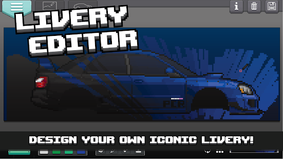 Pixel Car Racer- screenshot thumbnail