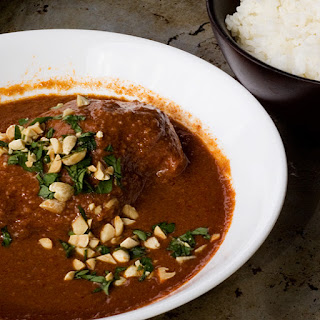 Peanut Chicken Mole