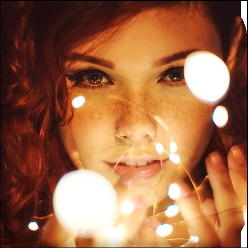Sparkle Effects Kirakira Glitter Camera Overlay - Apps on
